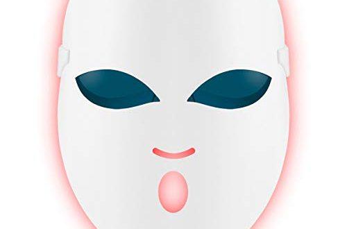 REAKOO Light Therapy Mask LED Gesichtsmaske Akne Behandlung Maske Anti Akne 500x330 - REAKOO Light Therapy Mask LED Gesichtsmaske Akne Behandlung Maske Anti-Akne Lichttherapie Collagen-Whitening-Maske Photonen Entzündungen mit Blau/Rot/Orange Licht